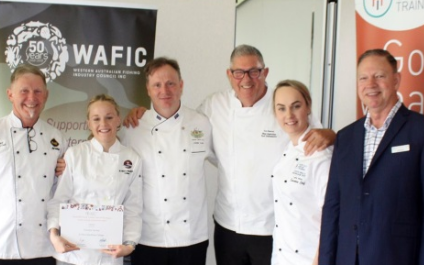 Student shines in 'Taste of the Future' cook-off