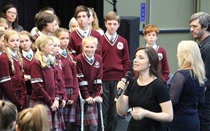 Vocal students perform with 'The Idea of North'