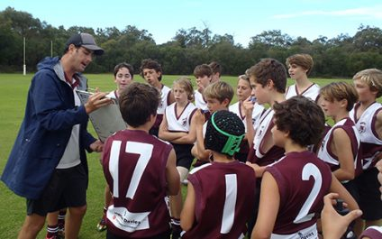 Year 7 AFL team finish strong against BCG