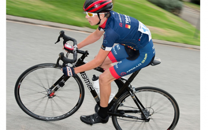 Cycling: State Criterium Race silver medallist