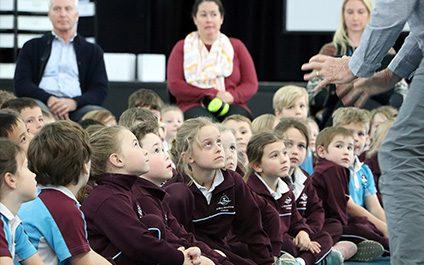 Musica Viva breezes into Primary
