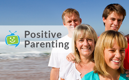 This month on SchoolTV: Positive Parenting