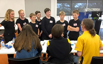 Curiosity Academy take on Tournament of the Minds