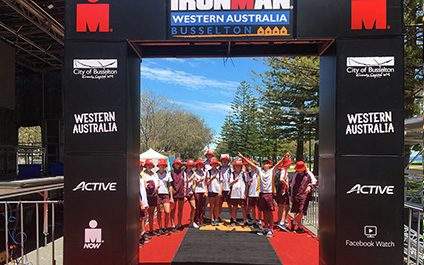 Students have service 'in the bag' for Ironman