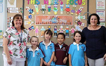 Year 2LT celebrates Harmony Day