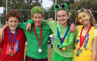 Primary campus inter-House Athletics Carnival results – Friday 20 May