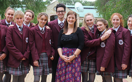 Meet five students on exchange from Italy