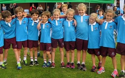 Primary Cross Country competes in Bunbury