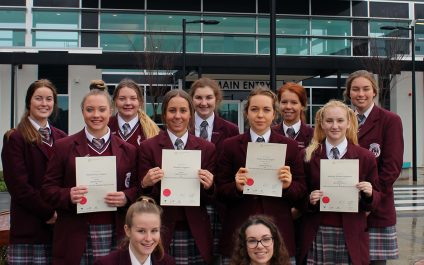 Year 12 students prepared for Nursing studies