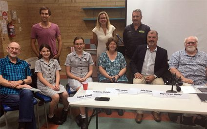 Students Represent Youth in Local Panel Discussion