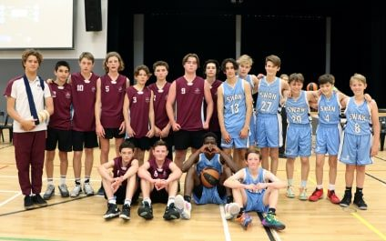 ACC Basketball: St Mary Mackillop College V Swan Christian School