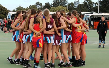 Netball: South West High School Cup