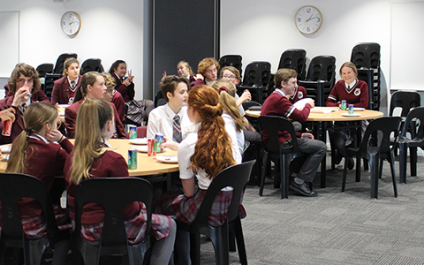 Student Council brainstorm with City for Vision 2030