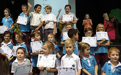 Primary Assembly and Awards 3RT: our FIRST values