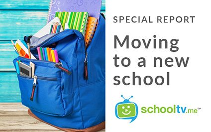 School TV Special Report – Moving To A New School