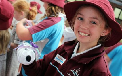Year 7 students sock it to poverty