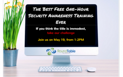 Webinar – The Best Free One-Hour Security Awareness Training Ever