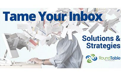 Webinar – Tame Your Inbox: Manage Your Email