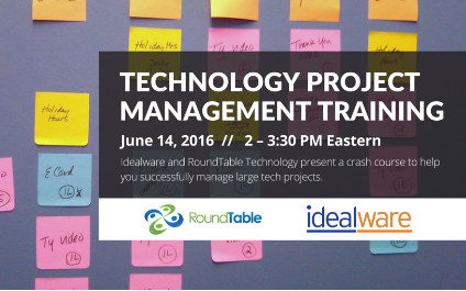 Webinar – Managing Tech Projects: A Nonprofit Crash Course