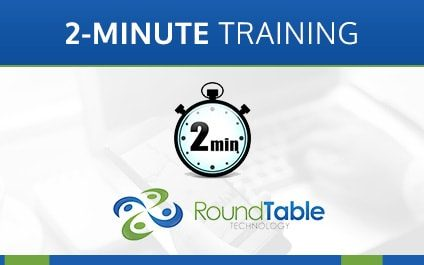 2-Minute Training—Two-Factor Authentication