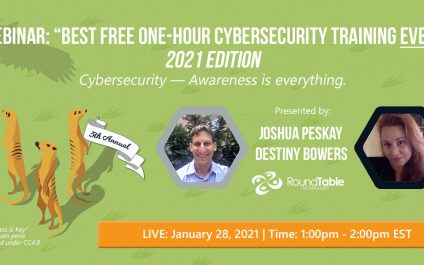 5th Annual Best Free 1-Hour Cybersecurity Training Ever