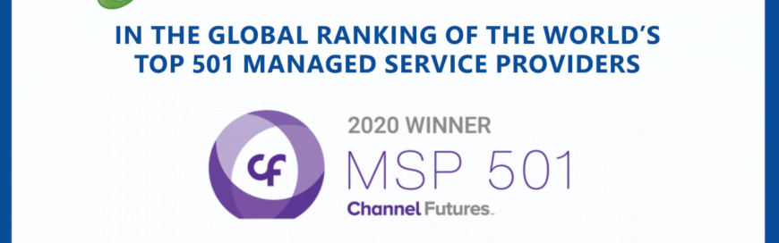 RoundTable Ranked 12th Among World's Most Elite 501  Managed Service Providers