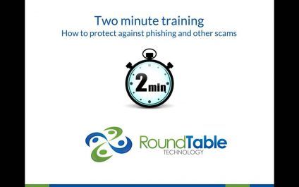 2-Minute Training to Protect Against Phishing Attacks