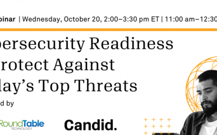 Webinar: Cybersecurity Readiness to Protect Against Today's Top Threats