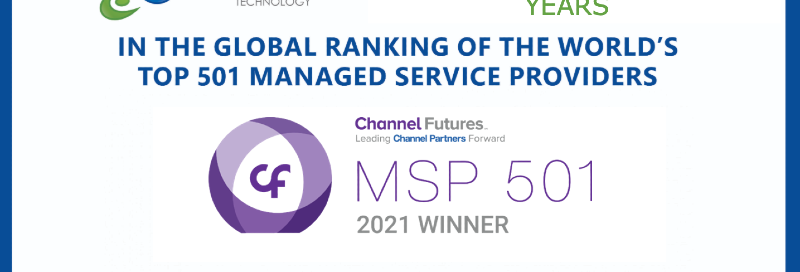 RoundTable Technology Wins MSP 501 Global Top 25 Fastest Growing MSPs for Second Year Running