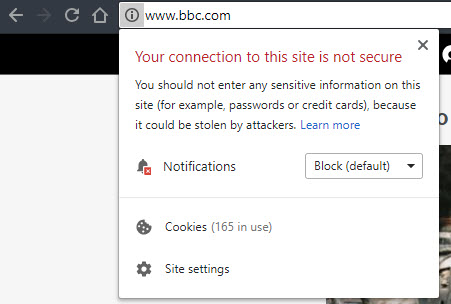 BBC-Not-Secure