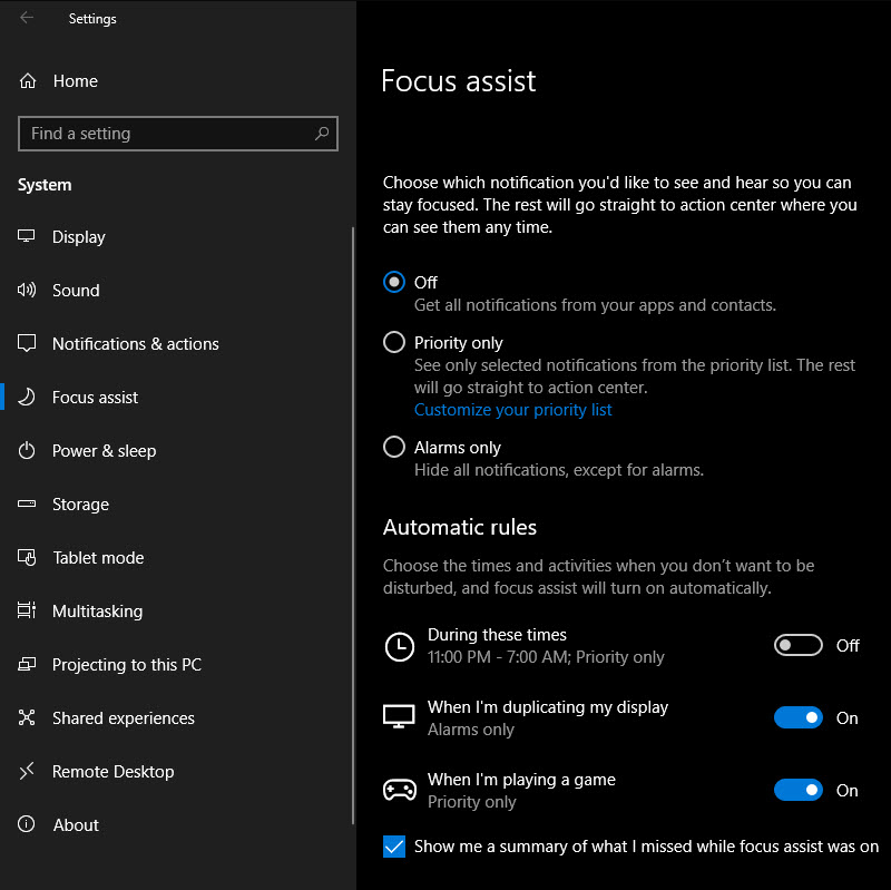 Windows-10-Focus-Assist