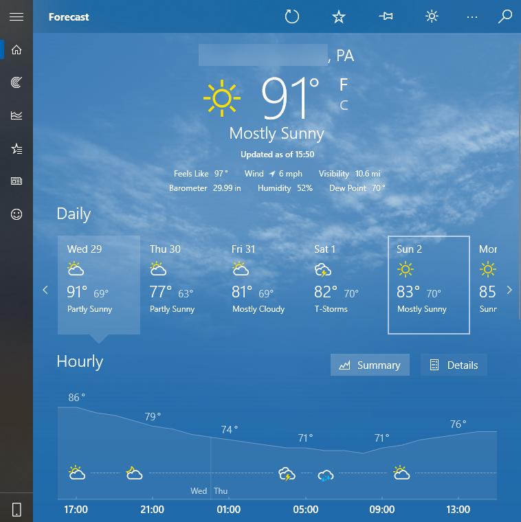 Windows-10-Weather