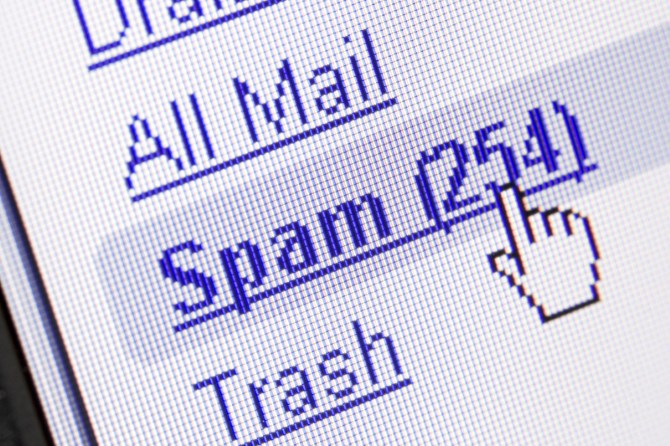 Spam Email Box