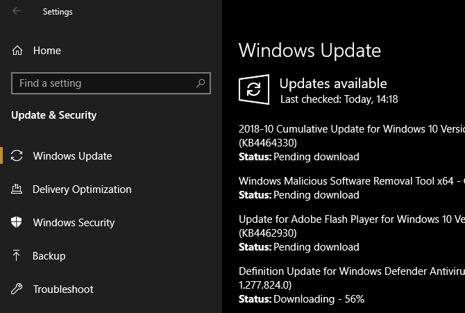 Windows-10-Updates