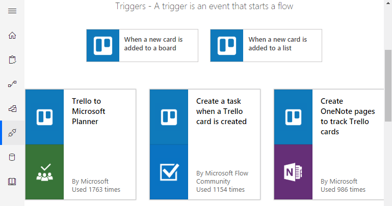 Microsoft-Flow-Triggers