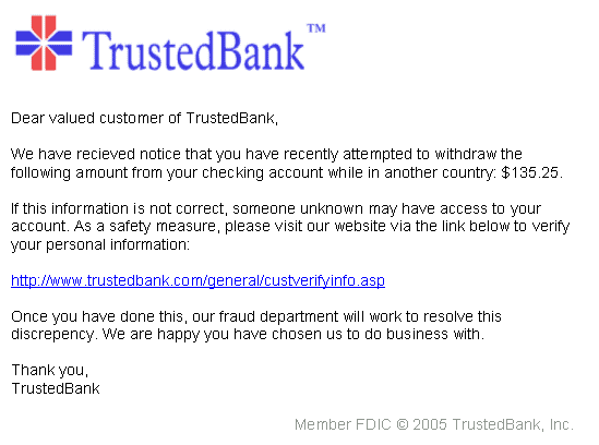 PhishingTrustedBank