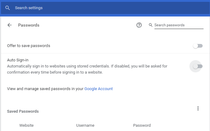 Chrome-Disable-Password-Saving