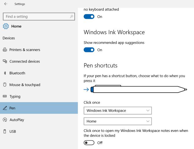 Windows-Ink-Pen-Options