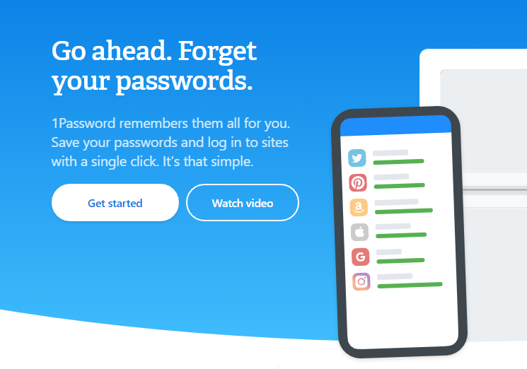 Why You Should Use a Password Manager Like 1Password | Houk