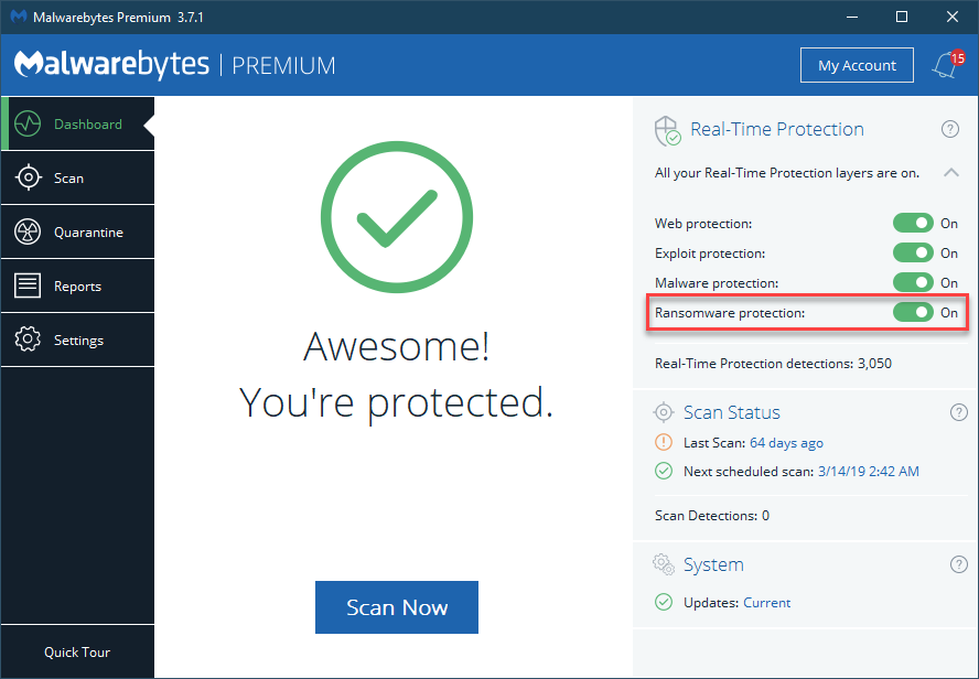 Malwarebytes Ransomware Protection