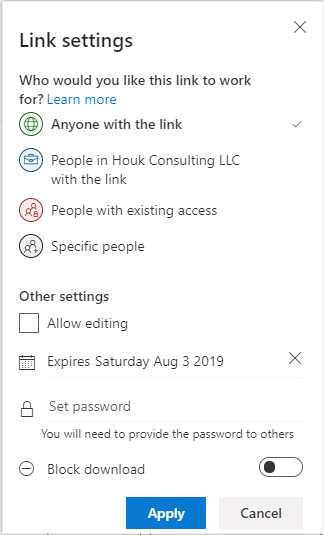 OneDrive-Sharing-Settings