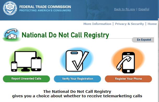 Do-Not-Call-Registry