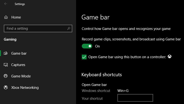 Windows-Game-Bar-Option