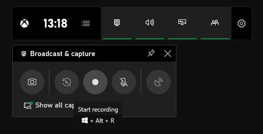 Xbox-Game-Bar-Record-Button