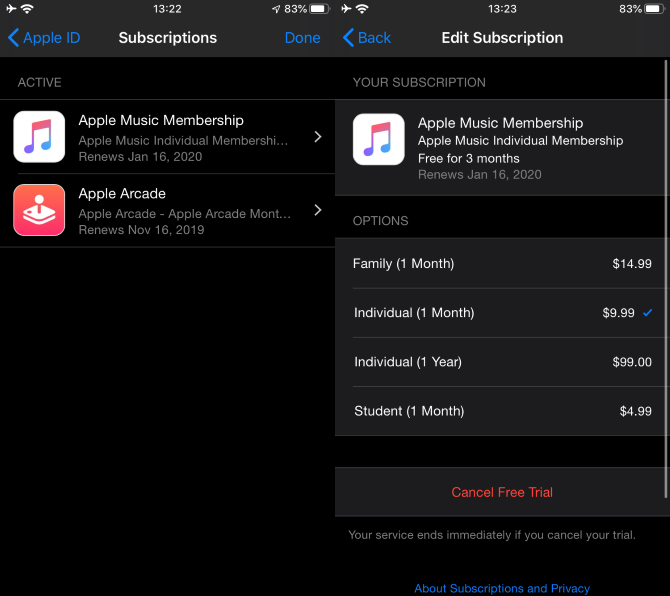 iPhone-Manage-Subscriptions