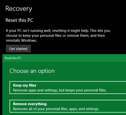 Windows-10-Recovery