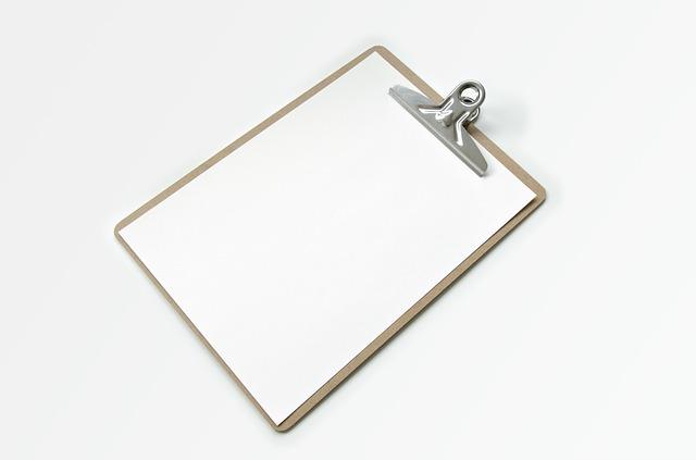 Blank-Clipboard