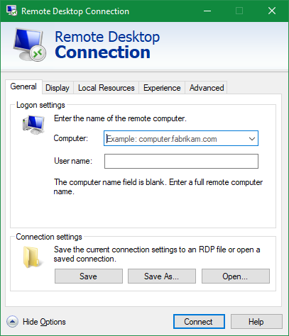 RDP-Windows-10