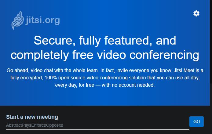 Jitsi-Meeting