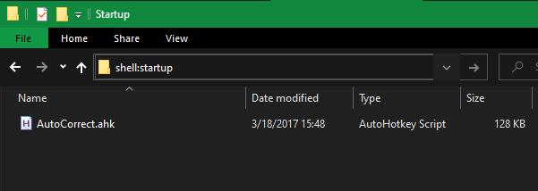 Windows-Startup-Folder